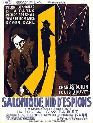 Street of Shadows (1937 film) - French theatrical release poster