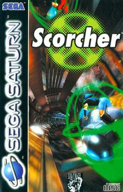 Cover of Scorcher, Saturn version, European release