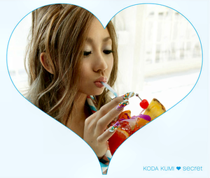 Secret (Kumi Koda album) - Image: Secret C Donly kodakumi