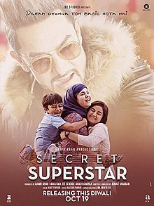 Secret Superstar 2017 Hindi BDRip 720p 1.5GB AAC DD 5.1 MKV
