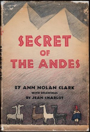 Secret of the Andes - First edition