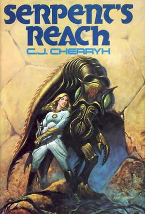 Serpent's Reach - Serpent's Reach first edition cover, depicts Raen a Sul hant Meth-maren, and a Majat