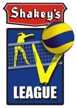 Premier Volleyball League - Logo used by the league as the Shakey's V-League