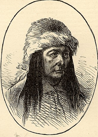 Sitting Bull - Sketch of Sitting Bull; Harper's Weekly, December 8, 1877 issue.