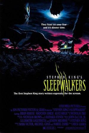 Sleepwalkers (film) - Theatrical release poster