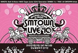 SM Town Live '10 World Tour - Image: Smtownlive 10