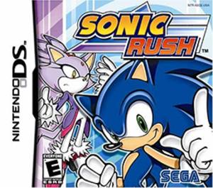 Sonic Rush - Image: Sonic Rush Coverart