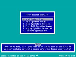 SpinRite - SpinRite 2.0, circa 1991.