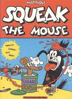 <i>Squeak the Mouse</i> comics