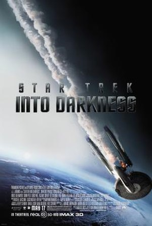 Star Trek Into Darkness - Image: Star Trek Into Darkness Final US Poster