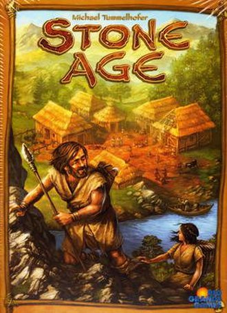 Stone Age (board game) - Image: Stone Age game