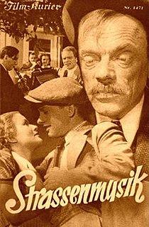 <i>Street Music</i> (1936 film) 1936 film by Hans Deppe