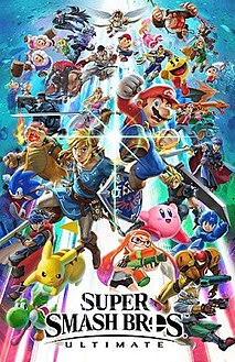 <i>Super Smash Bros. Ultimate</i> 2018 fighting video game for the Nintendo Switch