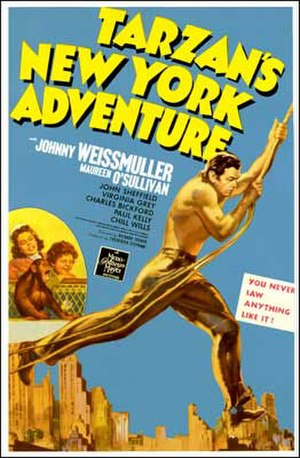 Tarzan's New York Adventure - Theatrical poster