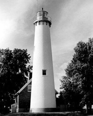 Tawas Point Light - Undated USCG image