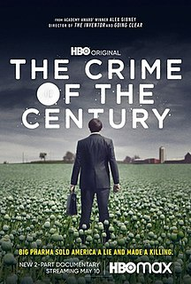 <i>The Crime of the Century</i> (2021 film) American documentary film
