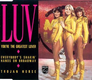 You're the Greatest Lover - Image: The Greatest Lover Duitsland mini cd front