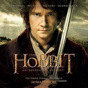 Music of The Hobbit film series - Image: The Hobbit 1 CD Cover