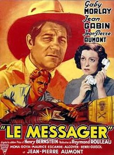 <i>The Messenger</i> (1937 film) 1937 French film directed by Raymond Rouleau