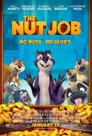 The Nut Job - Theatrical release poster