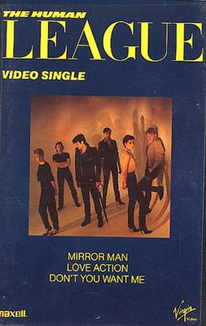 The Human League Video Single (1983) - Image: Thlsiglevhs