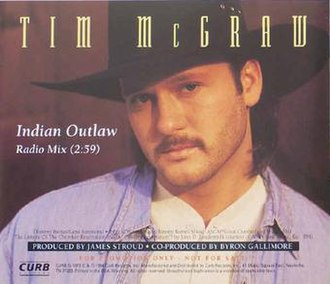 Indian Outlaw - Image: Tim Mc Graw Indian Outlaw