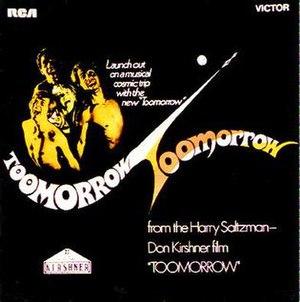 Toomorrow (soundtrack) - Image: Toomorrow (soundtrack)