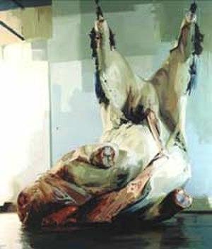 Jenny Saville - Torso 2 (2004), oil on canvas, Saatchi Gallery
