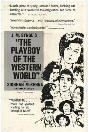 The Playboy of the Western World (film) - Original film poster