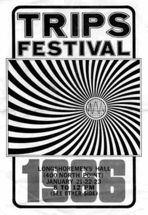Acid Tests - Image: Trips Festival poster