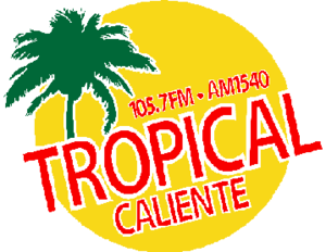 KGLA (AM) - Image: Tropical Caliente logo