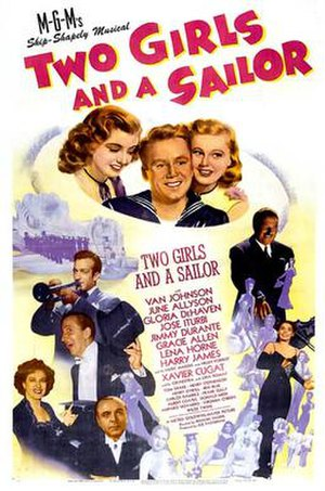 Two Girls and a Sailor - Film poster