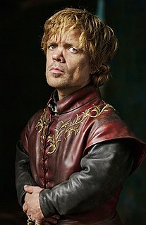 Tyrion Lannister Character in A Song of Ice and Fire