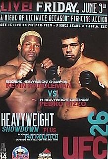 UFC 26 UFC mixed martial arts event in 2000