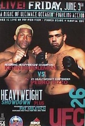 UFC 26 - Image: UFC26Event Poster