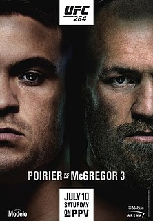 UFC 264 UFC mixed martial arts event in 2021