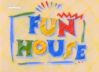 Fun House (UK game show) - Opening title
