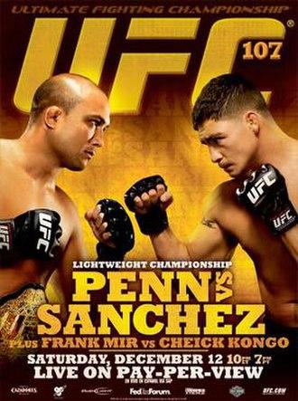UFC 107 - Image: Ufc 107poster 2