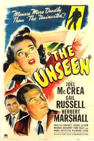The Unseen (1945 film) - Theatrical release poster