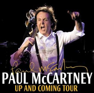 Up and Coming Tour - Online tour advertisement