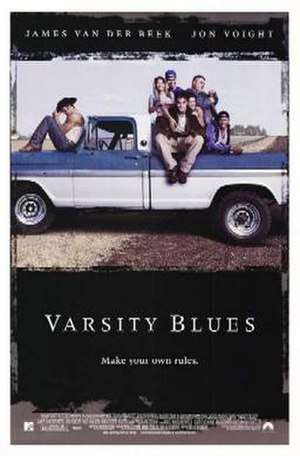 Varsity Blues (film) - Theatrical release poster