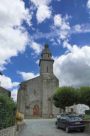 Arrondissement of Bellac - Image: Village church, Rancon, Haute Vienne