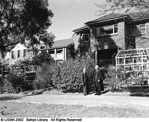 Wesley College (Western Australia) - Headmaster's Residence in 1950