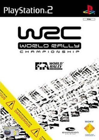World Rally Championship (2001 video game) - Image: WRC World Rally Championship