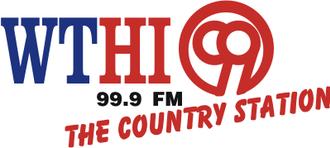 WTHI-FM - WTHI-FM logo
