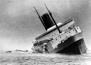 TEV <i>Wahine</i> ship