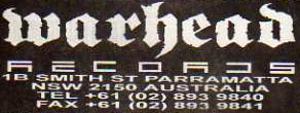 Warhead Records - Image: Warhead