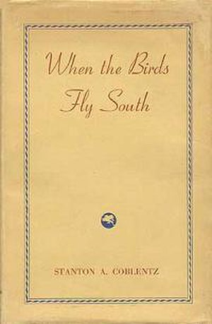 When the Birds Fly South - Dust cover of the first edition