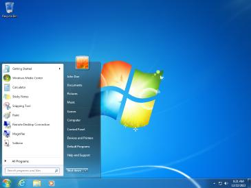 Windows 7 SP1 screenshot