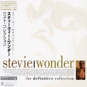 The Definitive Collection (Stevie Wonder album) - Image: Wonder Japan